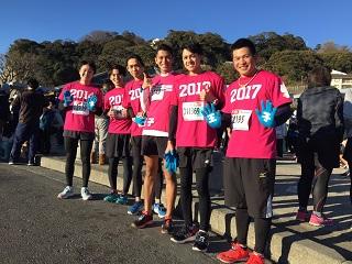 湘南藤沢市民マラソン(王子活動日記)