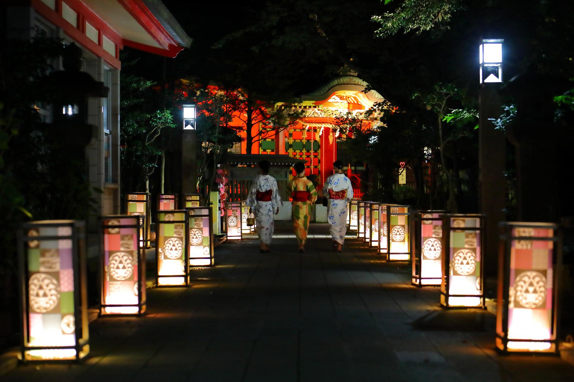 江の島灯籠2021