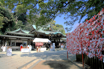 江島神社(辺津宮)