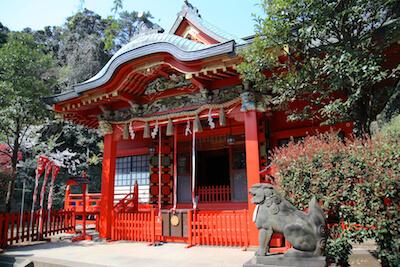 江島神社(中津宮)