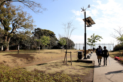 亀が岡広場