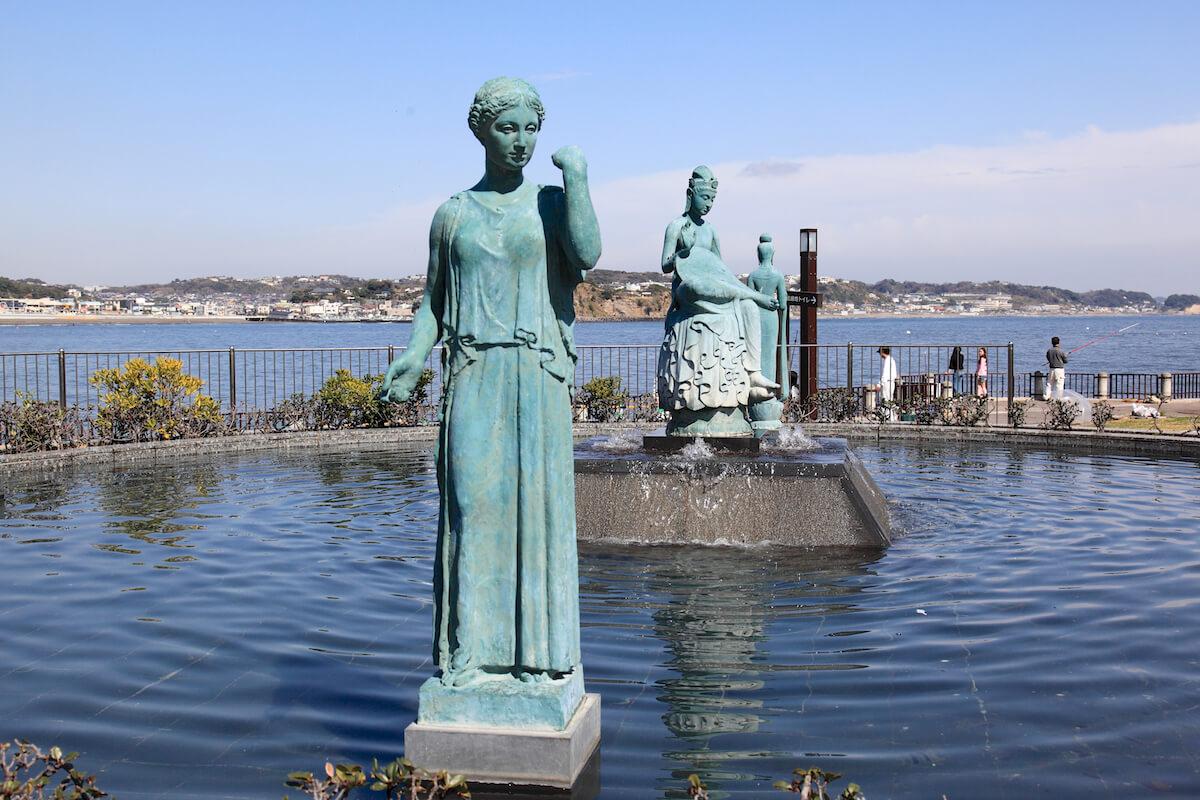 オリンピック記念噴水池