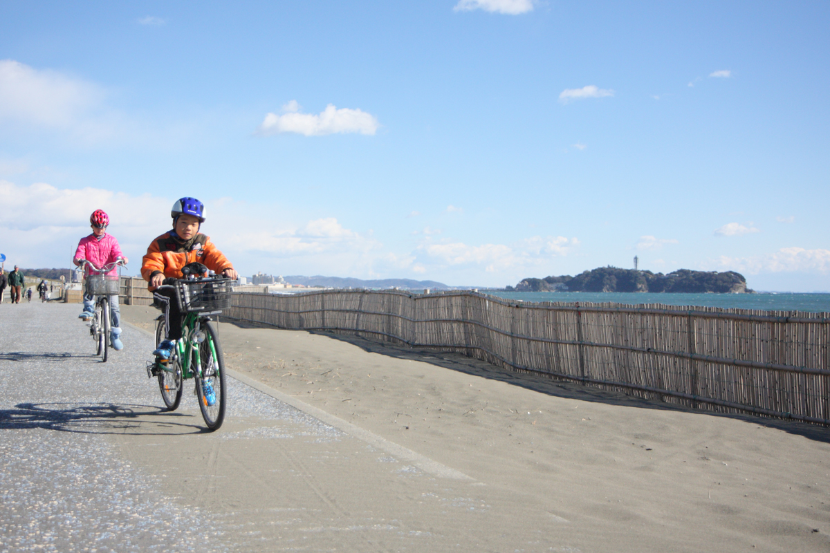 湘南海岸サイクリングロード